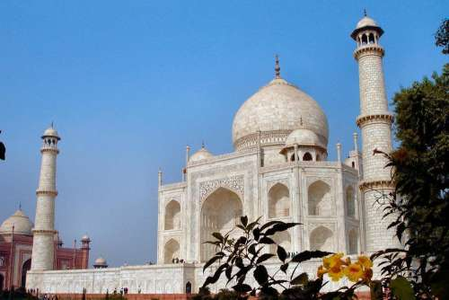 Taj Mahal India Asia travel architecture