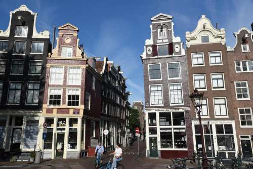 Amsterdam architecture city travel street