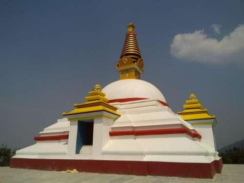 Nepal shrine Buddhism architecture  Asia