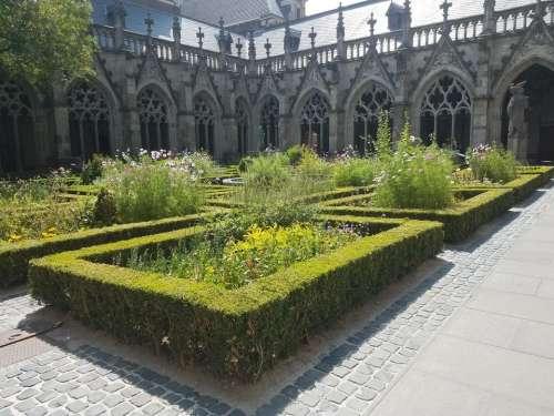 Utrecht Holland Netherlands Europe garden