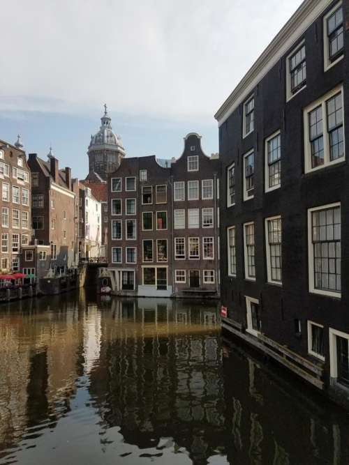 Amsterdam Europe architecture city canal water