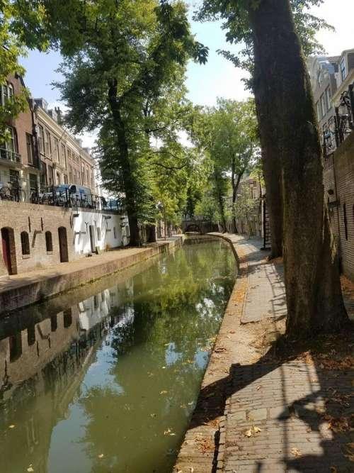 Utrecht Holland Netherlands Europe canal