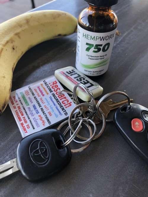research keys keychain key ring