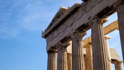 Acropolis Greece Monument Athens Parthenon Greek