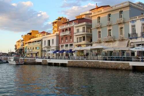 Agios Nikolaos Crete Sea Side Greece Travel