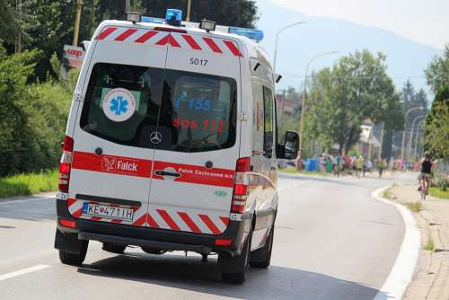Ambulance Rescue Service Help The Doctor Path