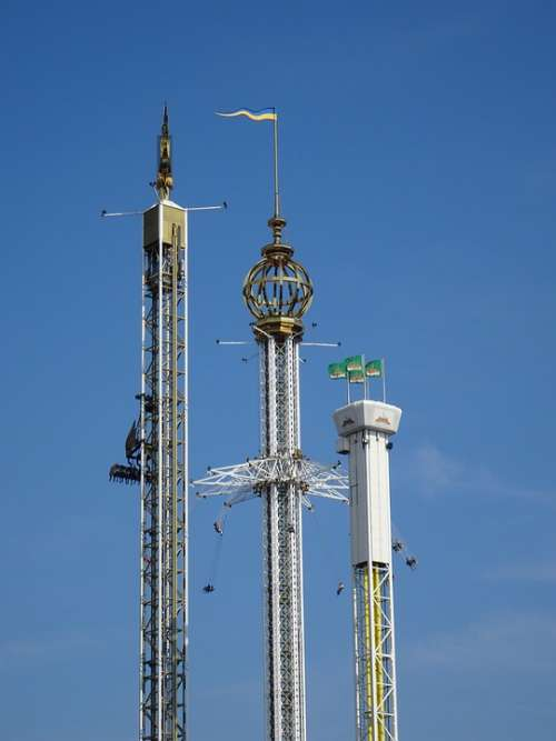 Amusement Park Fairground Folk Festival Fair Rides