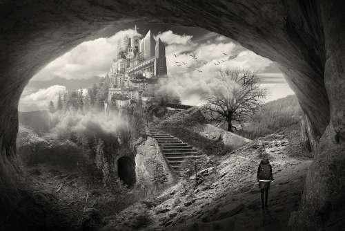 Art Artist Black And White Design Surrealism