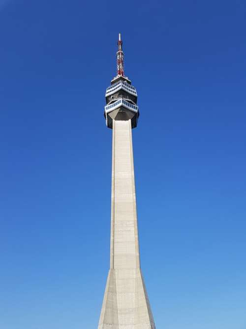 Avala Tower Belgrade Serbia Balkan Architecture