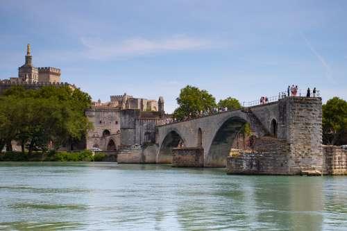 Avignon France Provence Architecture Building City