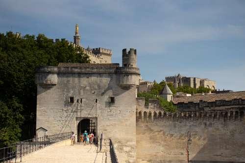 Avignon Provence France Architecture Building