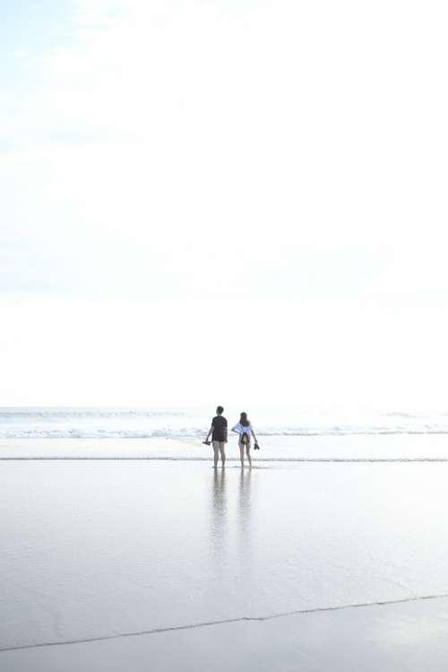Bali Beach Balangan Surfer Indonesia Ocean