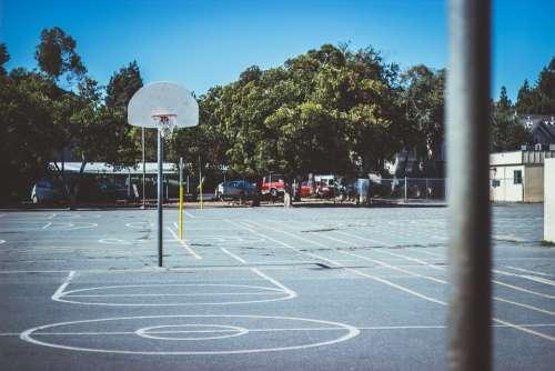 Basketball Basket School Fun Court Sport