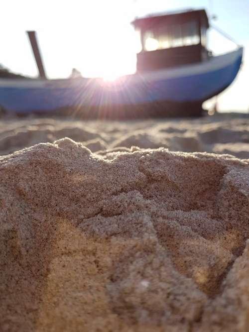 Beach Sand Sun Boat