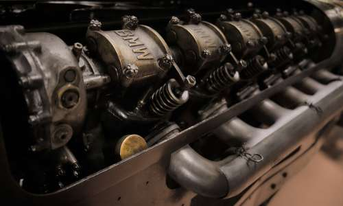 Bmw Cylinder Motor Aircraft Engine Brutus