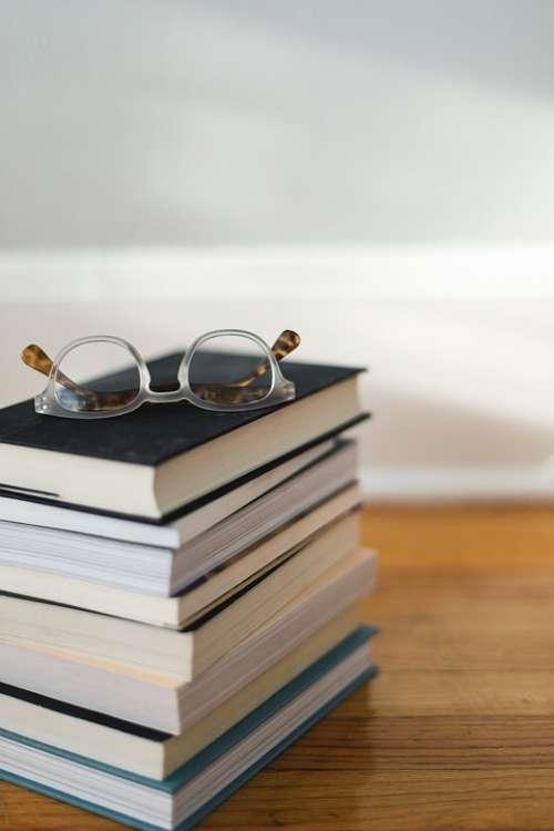 Books Reading Glasses Library