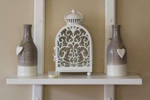 Bottle Heart Ornament Chandelier
