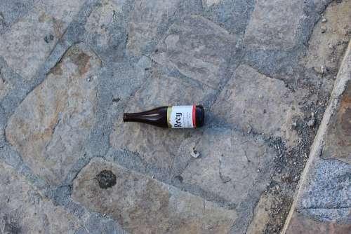 Bottle Beer Wine Street Floor Alcohol Enjoy Pull