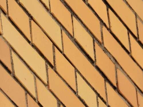Brick Brick Facing Yellow Chimney Building