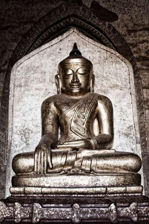 Buddha Statue Zen Buddhism Meditation Religion