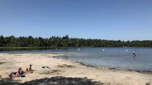 Bullensee Rotenburg Lower Saxony Vacations Swim