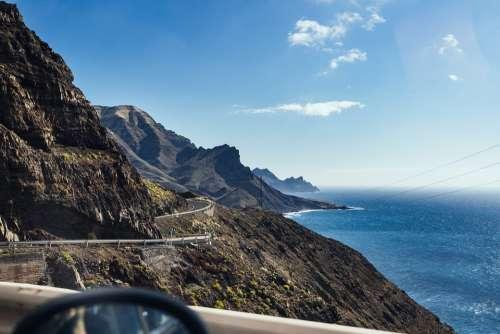 Canary Gran Canaria Spain Spanish Volcanic Island