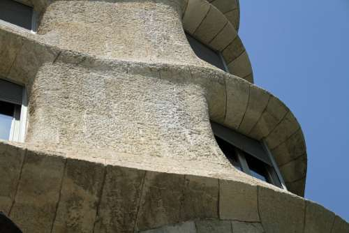 Casa Mila La Pedrera Gaudi Architecture Landmark