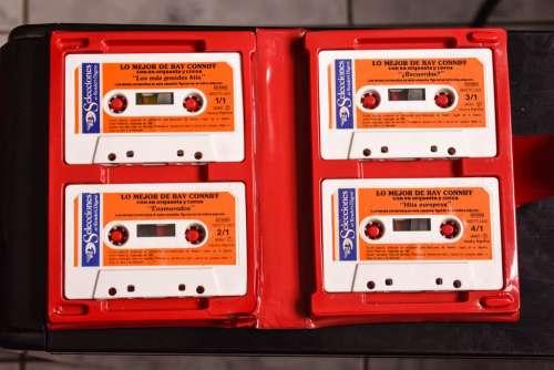 Cassettes Music Retro Nostalgia