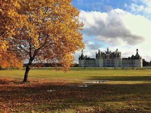 Castle Chambord France Renaissance Loire Palace