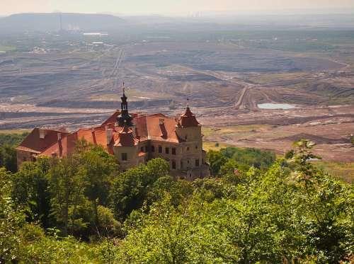Castle Extraction Mine Jezeří Architecture