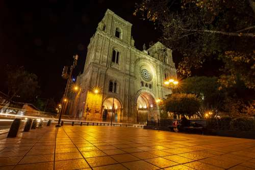 Cathedral Of Cuenca Architecture City America