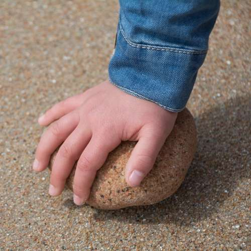 Child Games Sand Fun Beach Childhood Nature