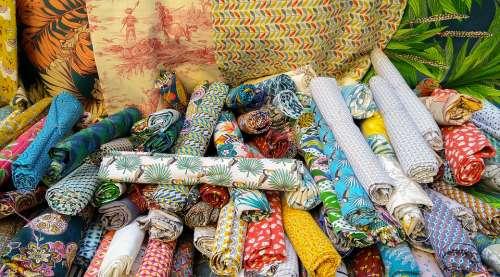 Cloths Market Fashion Retail Shopping Colorful
