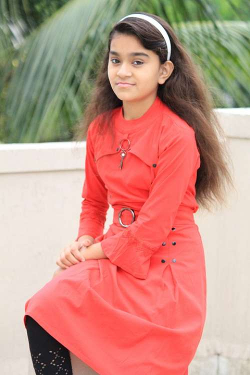 Cute Girl Indian Girl Happy Girl Smile Female Face
