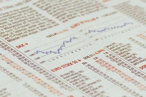 Dax Stock Exchange Chart Index Stock Market Index