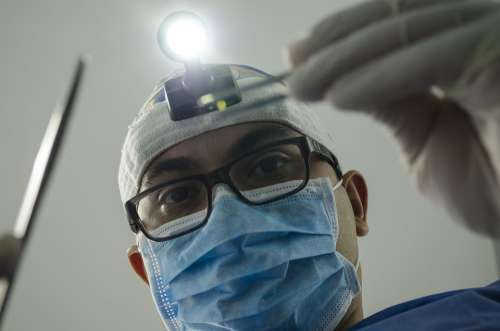 Dentist Operation Teeth Lamp Clinic Dental
