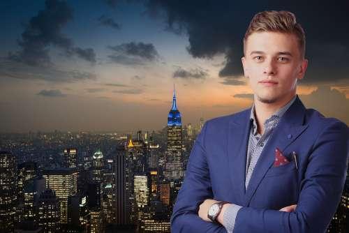 Entrepreneur Businessman New York Manhattan Startup