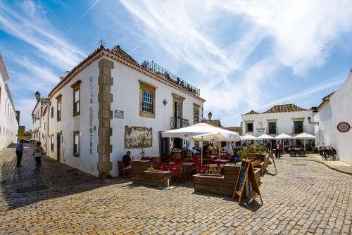 Faro Algarve Portugal Summer Mood Sky Vacations