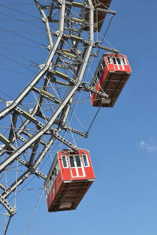 Ferris Wheel Vienna Prater Attraction