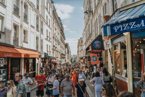 France Paris Streets Urban Architecture