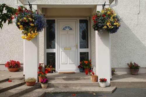Front Door Home Entrance Property Doorway