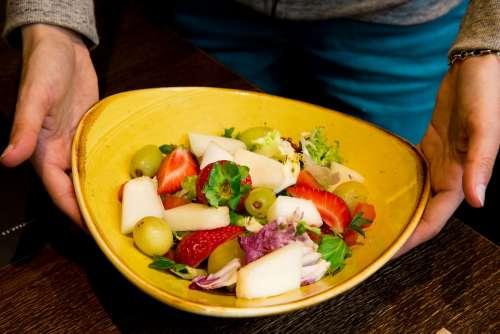 Fruit Restaurant Gastronomic Food Salad Dishes