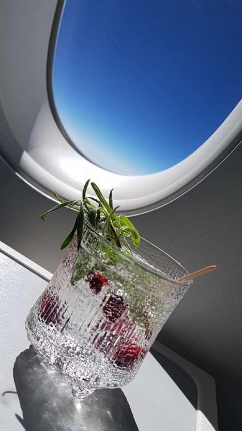 G T Gin And Tonic Finnair Business Class