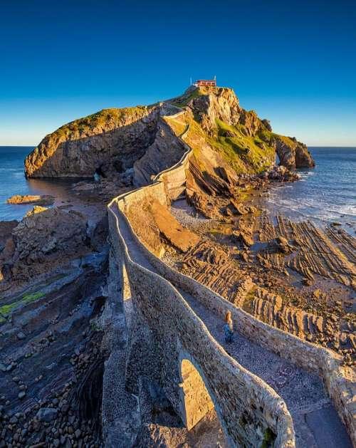Gaztelugatxe Basque Country Bakio Island Spain