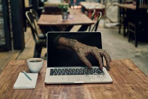 Hand Zombie Horror Halloween Death Monster Dead