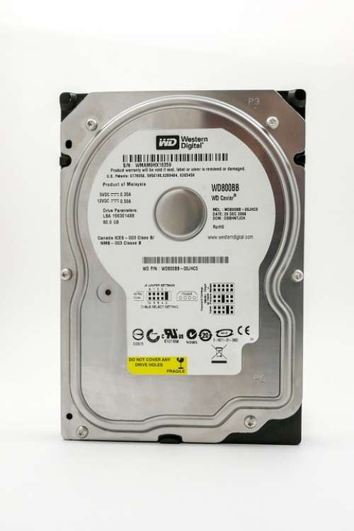 Hard Drive Electronics Hdd Pc Technology Media
