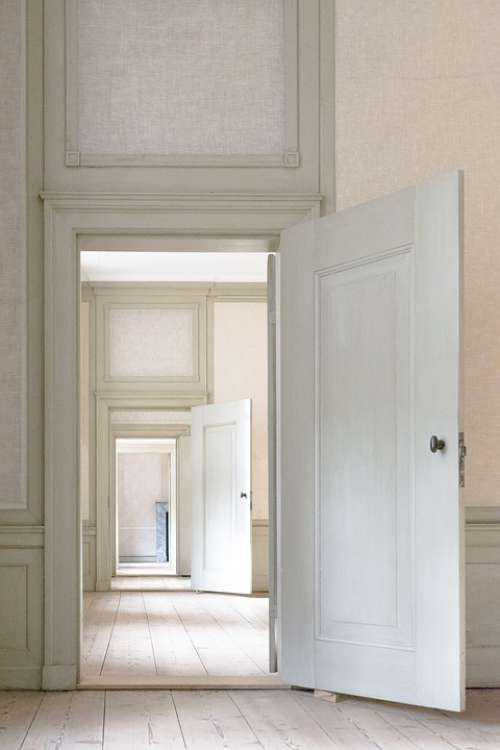 Indoors Door House Wood Window Doors Perspective