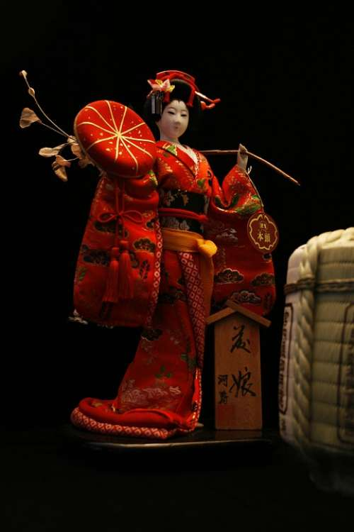 Japanese Doll Japanese Doll Kimono Japan Culture