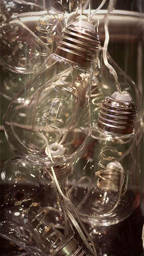 Light Bulbs Bulbs Glass Metal Light Lamp Energy