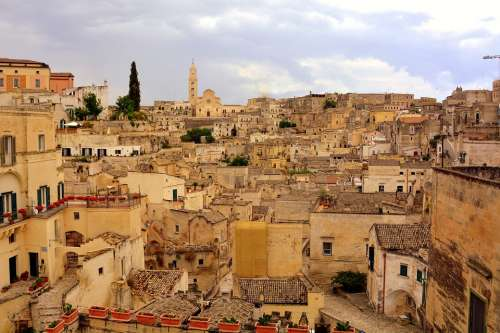 Matera Houses Old Italy Architecture Historian